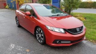 Used 2013 Honda Civic Si- I-Vitec-Navi for sale in Drummondville, QC