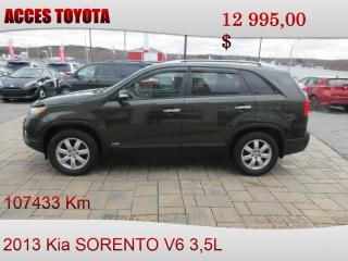 Used 2013 Kia Sorento for sale in Rouyn-Noranda, QC