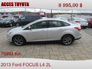 Used 2013 Ford Focus for sale in Rouyn-Noranda, QC