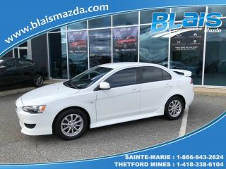 Used 2011 Mitsubishi Lancer SE for sale in Ste-Marie, QC