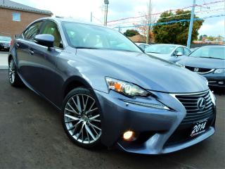 Used 2014 Lexus IS 250 AWD | PREMIUM | LEATHER.ROOF | BACK UP CAMERA for sale in Kitchener, ON