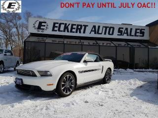 Used 2011 Ford Mustang GT CALIFORNIA SPECIAL 5.0L CONVERTIBLE for sale in Barrie, ON