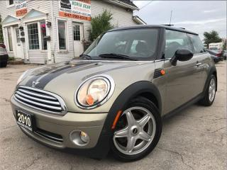 Used 2010 MINI Cooper for sale in Burlington, ON