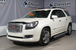 Used 2015 GMC Acadia Denali Sunroof for sale in Montréal, QC