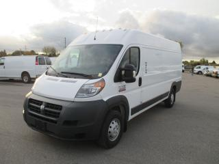 Used 2018 RAM ProMaster 3500.159 INCH.W/BASE.HIGH ROOF,EXTENDED for sale in London, ON