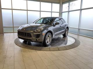 Used 2018 Porsche Macan Local Edmonton Vehicle One Owner for sale in Edmonton, AB
