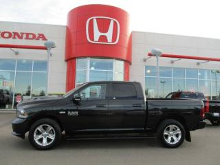 Used 2017 RAM 1500 SPORT 4x4 Backup Camera Heated Leather for sale in Red Deer, AB