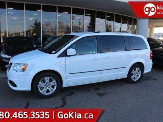 Used 2017 Dodge Grand Caravan CREW; 7-PASS, STOW AND GO, HEATED SEATS, BACKUP CAM AND MORE! for sale in Edmonton, AB