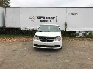 Used 2013 Dodge Grand Caravan SE for sale in Barrie, ON