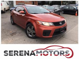 Used 2010 Kia Forte EX | MANUAL | SUNROOF | ONE OWNER | NO ACCIDENTS for sale in Mississauga, ON