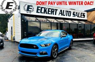 Used 2017 Ford Mustang GT CALIFORNIA SPECIAL COUPE WITH LEATHER / NAV for sale in Barrie, ON
