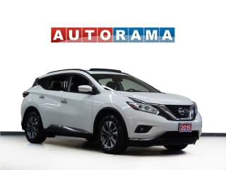 Used 2015 Nissan Murano SL NAVIGATION LEATHER SUNROOF 4WD BACKUP CAMERA for sale in Toronto, ON