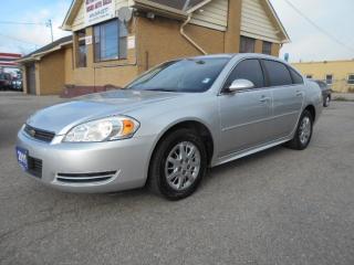 Used 2011 Chevrolet Impala Undercover Police Pkg 3.9L V6 Loaded 148,000KMs for sale in Etobicoke, ON