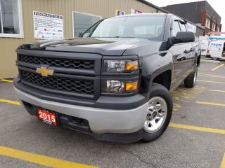 Used 2015 Chevrolet Silverado 1500 4X4-DOUBLE CAB-FACTORY WARRANTY for sale in Tilbury, ON
