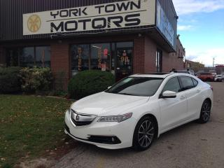 Used 2015 Acura TLX ElitePack|SH-AWD|NAV|Leather|OneOwner for sale in North York, ON