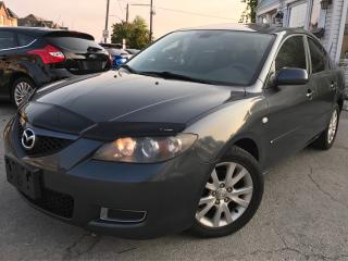 Used 2008 Mazda MAZDA3 GS|Accident Free|One Owner|Sunroof|Alloys Wheels for sale in Burlington, ON
