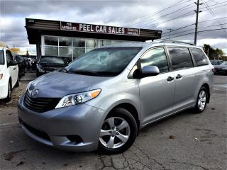 Used 2017 Toyota Sienna LE 59K SILVER ON GREY  for sale in Mississauga, ON