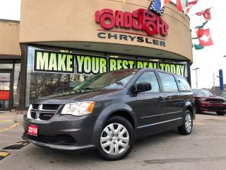 Used 2016 Dodge Grand Caravan CANADA VALUE PACKAGE7 PASS KEYLESS ENTRY for sale in Toronto, ON