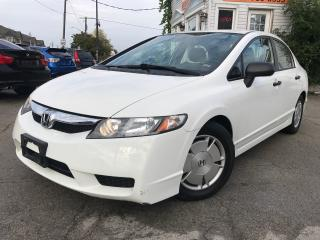 Used 2009 Honda Civic DX-G|Manual|Accident Free|One Owner|Low KM for sale in Burlington, ON