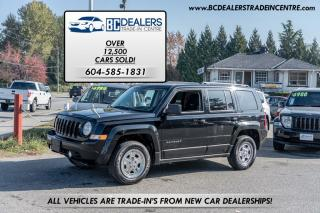 Used 2014 Jeep Patriot North Edition, 4x4, Low 79,000km's, Very Clean! for sale in Surrey, BC