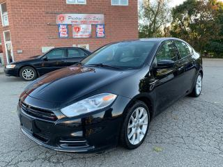 Used 2013 Dodge Dart TURBO/SXT/6 SPEED/NO ACCIDENT/CERTIFIED/WARRANTY for sale in Cambridge, ON