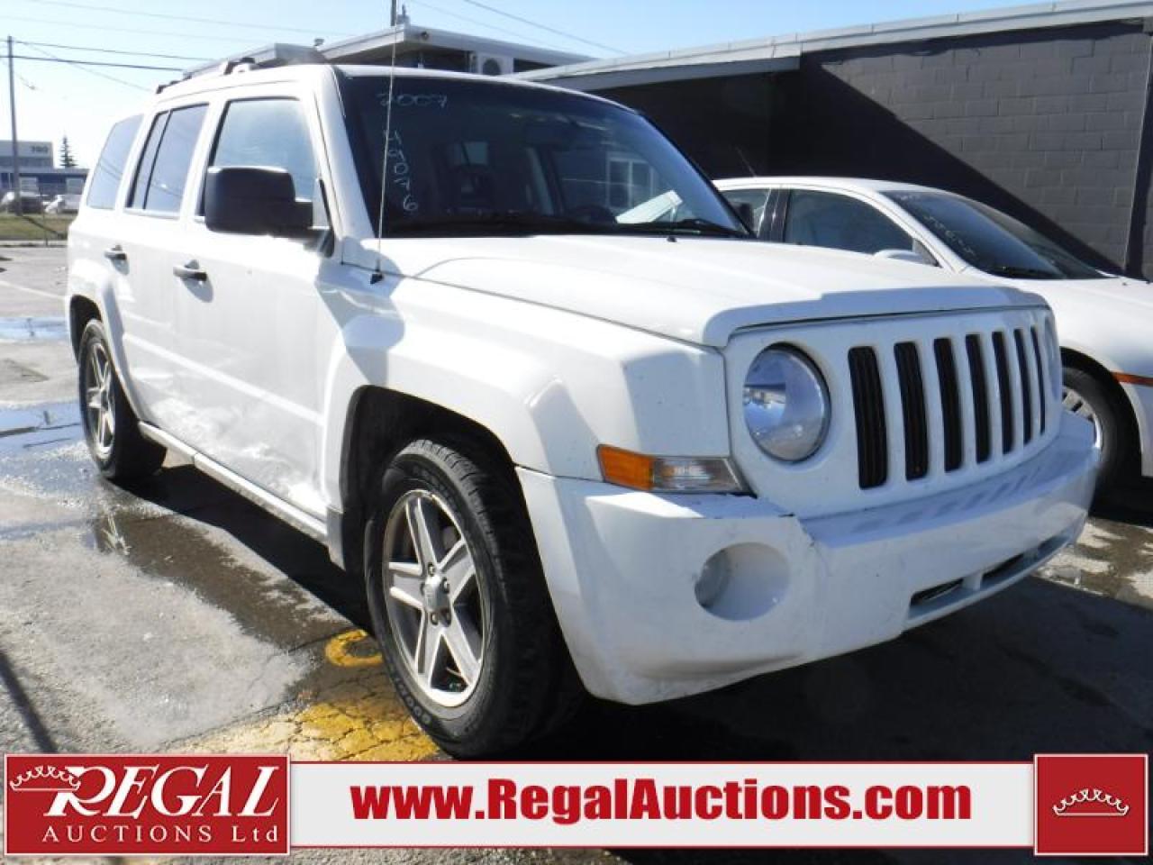 Photo of White 2007 Jeep Patriot
