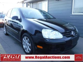 Used 2007 Volkswagen Rabbit 2D Hatchback for sale in Calgary, AB