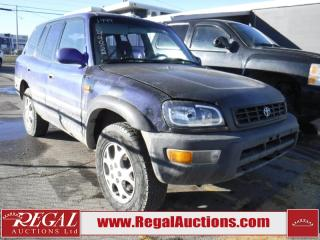 Used 1999 Toyota RAV4 4D Utility 4WD for sale in Calgary, AB
