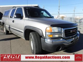 Used 2003 GMC Sierra 1500 4D EXT CAB for sale in Calgary, AB