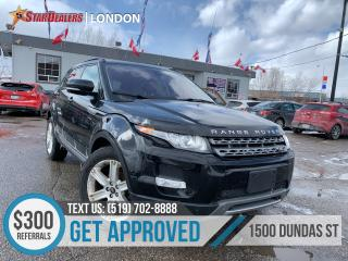 Used 2013 Land Rover Range Rover Evoque   NAV   Pano Roof Pure for sale in London, ON