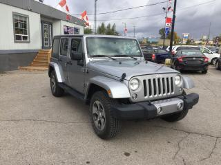 Used 2018 Jeep Wrangler JK | 4X4 Unlimited Sahara for sale in London, ON