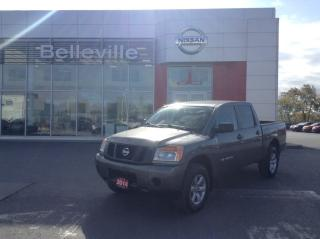 Used 2014 Nissan Titan SV 4WD SV 4WD LOCAL TRADE for sale in Belleville, ON
