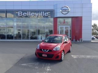 Used 2015 Nissan Micra SV AUTO. 1 Owner Local Trade - for sale in Belleville, ON