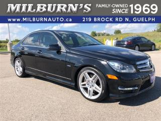 Used 2012 Mercedes-Benz C-Class 350 4Matic / NAV / PANO ROOF / BACKUP CAMERA for sale in Guelph, ON