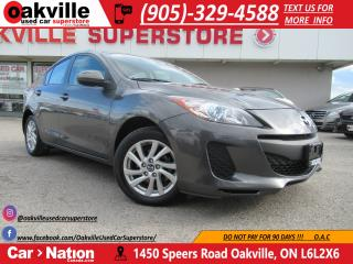 Used 2013 Mazda MAZDA3 GS-SKY | HEATED SEATS | BLUETOOTH | LOW KM for sale in Oakville, ON