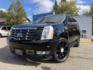 Used 2007 Cadillac Escalade AWD 4dr non accident Canadian truck ! Navi back up camera for sale in Brampton, ON