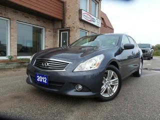 Used 2012 Infiniti G37 LUXURY AWD 3.7L V6 for sale in Midland, ON