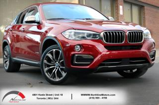 Used 2016 BMW X6 xDrive|Navigation|Adaptive Cruise Control|360 Camera|Sunroof for sale in Toronto, ON