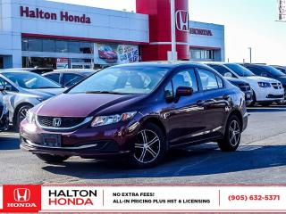 Used 2015 Honda Civic LX for sale in Burlington, ON