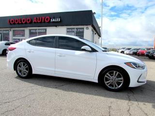 Used 2017 Hyundai Elantra SPORT AUTO CAMERA BLUETOOTH CERTIFIED WARRANTY for sale in Milton, ON