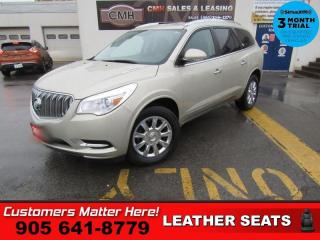 Used 2015 Buick Enclave CAM LEATH BS HS 2X-P/SEATS MEM 7-PASS P/GATE PARK-SENS for sale in St. Catharines, ON