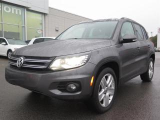 Used 2015 Volkswagen Tiguan COMFORTLINE SPORT for sale in St-Léonard, QC