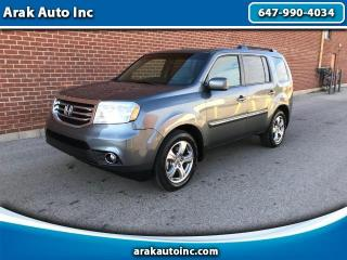 Used 2012 Honda Pilot EX-L 4WD 5-Spd AT for sale in Mississauga, ON