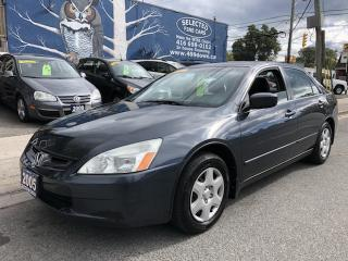 Used 2005 Honda Accord Sdn LX-G for sale in Toronto, ON