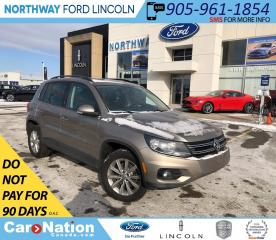 Used 2015 Volkswagen Tiguan Comfortline | AWD | LEATHER | MOONROOF for sale in Brantford, ON