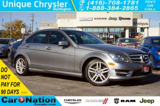 Used 2013 Mercedes-Benz C-Class C300 4MATIC| PREMIUM| SUNROOF| HEATED SEATS for sale in Burlington, ON