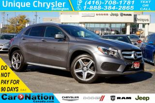Used 2015 Mercedes-Benz GLA 250| 4MATIC| SPORT PKG| NAV| BLINDPOT ASSIST for sale in Burlington, ON