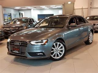 Used 2014 Audi A4 2.0 Komfort AWD-LEATHER-ROOF for sale in Toronto, ON