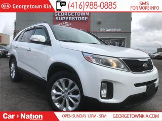 Used 2014 Kia Sorento EX V6 LEATHER| ROOF| AWD| BACK UP CAM for sale in Georgetown, ON