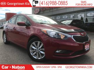 Used 2016 Kia Forte LX+ SUNROOF| ALLOYS| ONE OWNER| CLEAN CAR PROOF for sale in Georgetown, ON